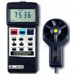 Air Flow & Air Velocity Digital Anemometer Lutron AM-4206