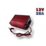 شارژر باطری ماشین 12 ولت 25 آمپری فایراستون تایوان مدل 1225دی با 2 سال گارانتی تعویض