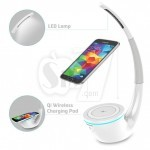 شارژر وایرلس و چراغ خواب زیبای نیلکین مدل فانتوم برای موبایلهای دارای استاندارد شارژ بیسیم کیو آی