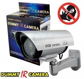 ماکت دوربین کاذب دکوری مدل بولت جدید، شبیه دوربین واقعی دارای چراغ چشمک زن