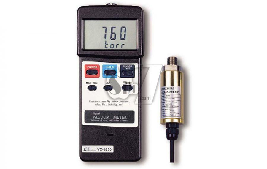 Portable vacuum meter LUTRON VC-9200
