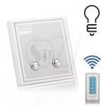 کلید برق دیواری کنترل دار دوپل هوشمند