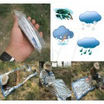 Reusable Waterproof Emergency Foil Sleeping Bag Outdoor Survival Hiking Camping