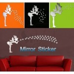 Fairy Angel Mirror Wall Sticker