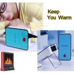Portable Handheld Mini Warm Air Fan Warmer Heater
