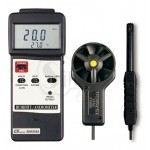 ANEMOMETER/HUMIDITY/TEMP. METER TESTER +K/J Thermometer LUTRON AM-4205A