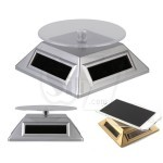 Classic Solar Showcase-JD Display Rotation Stage for Mobile phone, camera and jewelry