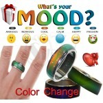 Changing Color Magic Emotion Feeling Mood Ring Band
