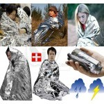 Portable Water Proof Emergency Rescue Blanket Foil Thermal Space New