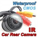 7 LED Waterproof Color CMOS/CCD Car Rear View Reverse Backup Camera