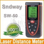 فاصله سنج و متر لیزری اسندوی با برد اندازه گیری 50 متری