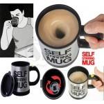 YD-001 Fashion Stainless Steel Self Stirring Mug