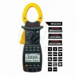 MASTECH MS2205 Digital Power Clamp Meter Three Phase Harmonic Tester with RS232 Interface