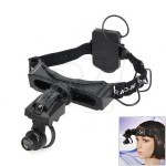 9892D Headset and Headband Watch Repair Magnifier Tool with  White Light LED