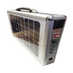 Ultra Thin suitcase shape 15W Portable Solar Power System