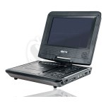 SR-PD751 Sierra 7 inch Rechargeable and Portable DVD Player + Analog TV Tuner + USB + Remote Control