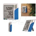 Desktop and wall mount Hygrometer and Thermometer with Data Logger MIC 98586ex