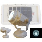 SUNCO SL-200 Concept Solar Powered Versatile 24 LED Spot light