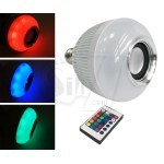 WINJOIN WJ-L1 Bluetooth Music Bulb , Bluetooth Speaker with Colorful LED Light and Remote Control