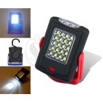 20SMD + 3LED Super Bright led Flashlight and work light with Magnetic Base And Hook