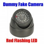 ماکت دکوری و شبه دوربین مراقبتی کاذب چراغدار مدل دام دارای لامپهای دید در شب