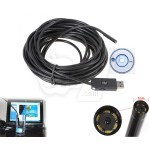 USB or AV or MicroUSB Waterproof Endoscope Snake eye Inspection Camera with LED Lighting