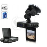 DC35 Portable Car DVR and Black Box Camera with Motion Detection ,2.5 Inch Display