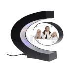 C Shape Magnetic floating and levitating photo frame