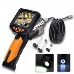 Teslong NTS200 Portable LCD Snake eye Borescope and Endoscope Inspection Camera with LED Light