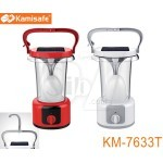 Kamisafe KM-7633T 60 LED rechargeable emergency lantern with solar panel charging