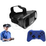 Lefant VR 30 Adjustable Virtual Reality Immersive 3D Glass Headset + Bluetooth Handheld Gamepad Controller