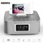Original REMAX RB-H3C  Desktop Smart USB and Wireless Bluetooth Speaker with FM Radio, Remote Control, Digital Alarm Clock