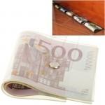 زیر دری و استوپر جالب پلاستیکی به شکل دسته اسکناس 500 یورویی