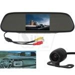 Car Rearview Mirror with 3.5 inch LCD Monitor and Wireless Reverse Camera