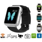 K8 GSM smart watch phone with android 4.4, WIFI, GPS, Bluetooth, dual core, Rom 4GB, 2.0MP Camera Wrist watch