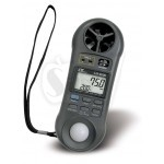 Lutron LM-9000 7 in 1 Environment Meter, Anemometer, Flow meter, Thermometer, Hygrometer, Barometer, Light meter, Dew point.