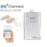 pqi  iConnect Apple OTG Dual-Interface USB 3.0 Flash Drive external USB Flash Memory for iPhone, iPad, iPod