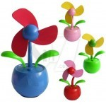 Sun Flower Shape USB Mini Fan