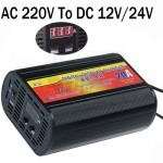 20A Digital Display 12V or 24V Automatic Smart Car Battery Charger