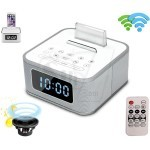 S1-BT Mini Wireless stereo Bluetooth Speaker with Big display Alarm Clock & FM Radio, USB Charging Port, Aux-in Jack