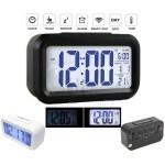 ساعت رومیزی دیجیتالی مدل 021 دارای سنسور تاریکی، آلارم، دماسنج و تقویم میلادی