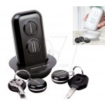 2 Fobs Wireless Portable Electronic Key Finder and Anti lost Locator Missing Keys with Alarm