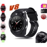 V8 Smart Watch Bluetooth GSM SIM Card Wrist Watch SmartPhone with Camera