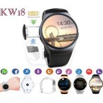 KW18 Multi Functional SIM Card and Bluetooth Sport Wrist Smart Watch Phone