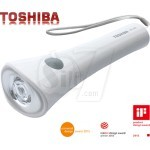 TOSHIBA KFL-302 LED Flashlight and Lamp with Strap