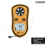 Benetech GM8908 Digital Hand held Wind Speed Gauge Meter Measure Anemometer Thermometer