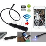 Wifi or USB Waterproof Flexible Borescope Endoscope Snake Inspection Camera