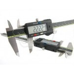 Stainless Steel Digital Caliper Micrometer with 0.01mm Resolution
