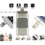 Flash Drive 3 in 1 USB Memory Stick for OTG Android and IOS Devices