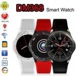 DM368 3G Smart Watch Phone with Android 5.1, Quad Core 1.3GHz CPU, 8GB, WiFi, GPS, Heart Rate Monitor
